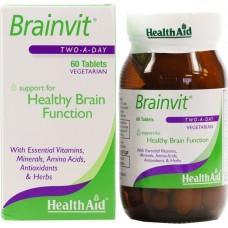 HEALTH AID BRAINVIT 60vetabs