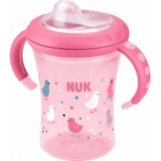 Nuk Easy Learning Starter Cup με Ρύγχος 200ml Ροζ, 6m+