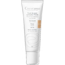 Avene Couvrance Fluid Foundation Corrector SPF20 2.5 Beige Tube 30ml