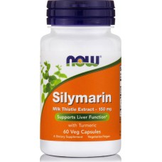 Now Foods Silymarin Milk Thistle Extract 150mg 60 φυτικές κάψουλες