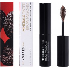 Korres Minerals Tinted Brow Mascara 02 Medium Shade