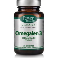 POWER HEALTH CLASSICS PLATINUM OMEGA 3 30caps