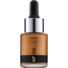 Nip+Fab Liquid Gold Highlighter Deep Gold 15ml