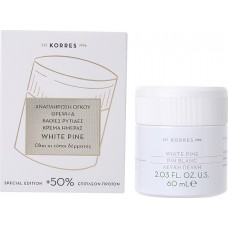 Korres Λευκή Πεύκη Κρέμα Ημέρας Αναπλήρωση Όγκου Θρέψη & Βαθιές Ρυτίδες για Όλους τους Τύπους Δέρματος 60ml
