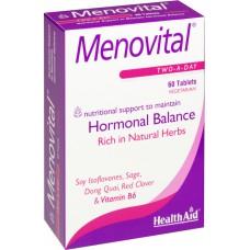 HEALTH AID MENOVITAL ΕΜΜΗΝΟΠΑΥΣΗ 60vetabs