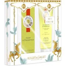 Roger & Gallet Christmas Set Fleur D' Osmanthus Eau Fraiche 30ml & Shower Gel 50ml