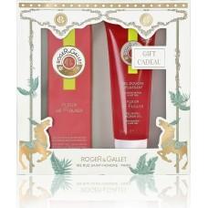 Roger & Gallet Christmas Set Fleur De Figuier Eau Fraiche 30ml & Shower Gel 50ml