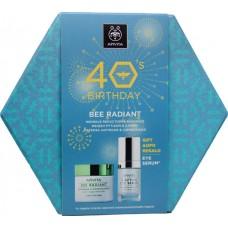 Apivita 40's Birthday Bee Radiant Set