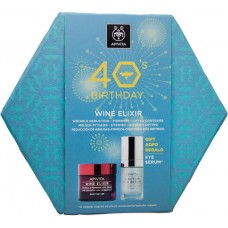 Apivita 40's Birthday Wine Elixir Set Rich Texture