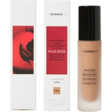 Korres Wild Rose Brightening Second-Skin Foundation SPF15 WRF4 30ml