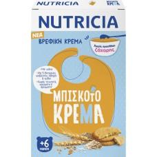 Nutricia Μπισκοτόκρεμα Χωρίς Προσθήκη Ζάχαρης 250gr
