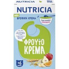 Nutricia Φρουτόκρεμα Χωρίς Προσθήκη Ζάχαρης 250gr