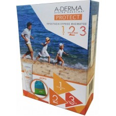 A-Derma Protect Kids Lait Enfant SPF50+ 250ml & Παιδικός Σάκος