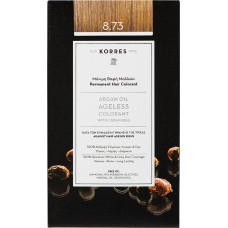 Korres Argan Oil Ageless Colorant Νο 8.73 Χρυσή Καραμέλα