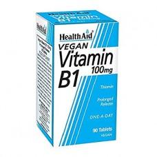 HEALTH AID VITAMIN B1 - THIAMIN 100MG P.R. 90vetabs