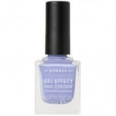 Korres Gel Effect Nail Colour 73 Lavender Purple