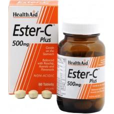 HEALTH AID ESTER C PLUS 500MG 60vetabs