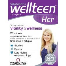Vitabiotics Wellteen Her 30 ταμπλέτες