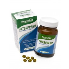 HEALTH AID INTERFRESH - Δροσερή Αναπνοή 60caps