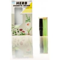 Herb Cigarette Holder Φίλτρα, μαύρο (12 Τεμ)