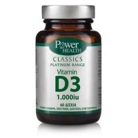 POWER HEALTH CLASSICS PLATINUM VITAMIN D3 1000iu 60tabs