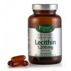 Power Health Classics Platinum Range Lecithin 1.200mg 60 κάψουλες