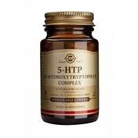SOLGAR 5-HTP HYDROXYTRYPTOPHAN 100MG VEG. 30CAPS