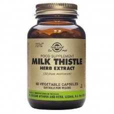 SOLGAR MILK THISTLE 100MG 50VCAPS