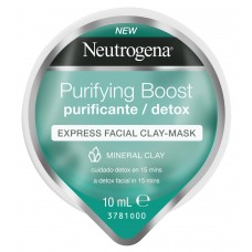 Neutrogena Purifying Boost Μάσκα Express σε Μορφή Κρέμας με Άργιλο 10ml
