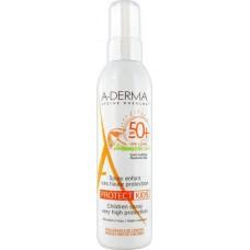 A-Derma Protect Kids Spray Enfant SPF50+ 200ml