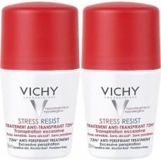 Vichy Deodorant Stress Resist Roll-On 72h 50mlx2