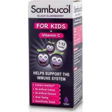Olvos Science Sambucol Kids + Vitamin C 120ml