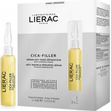 Lierac Cica Filler Anti Wrinkle Repairing Serum 3x10ml