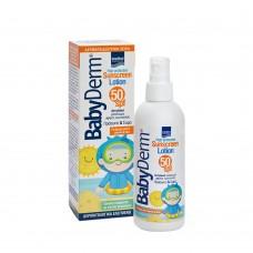 Intermed Babyderm Sunscreen Lotion SPF50 200ml